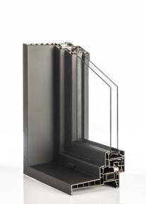 Izolační ornamentní /mléčné dvojsklo s hliníkovým rámečkem, Ug=1,4 (celková síla skla 18mm – 20mm)