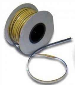 Šňůra těsnící žáruvzdorná s oboustranně lepící páskou 4mm